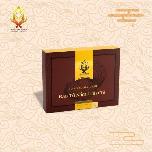 Bào Tử Nấm Linh Chi (10gói/hộp) - Hình 2