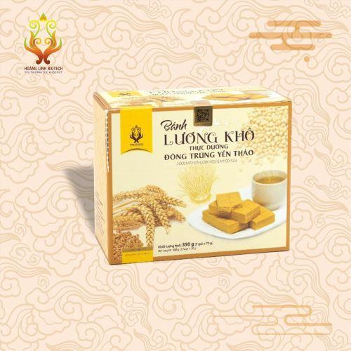 Bánh Lương Khô Đông Trùng Yến Thảo (350gr) - Hình 3