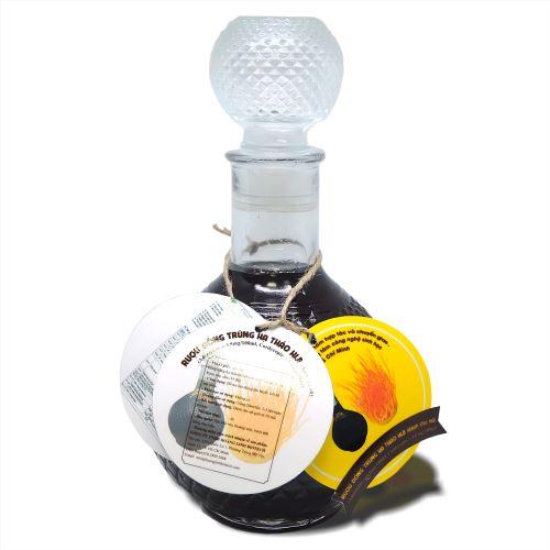 Rượu Đông Trùng Hạ Thảo HLB Dành Cho Nữ (1 Lít) - Hình 3
