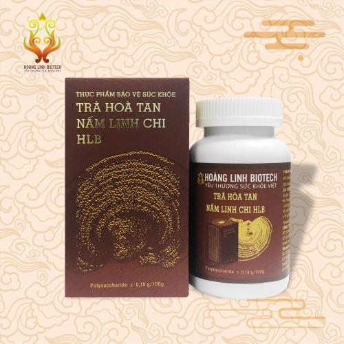 Trà Hòa Tan Nấm Linh Chi HLB (100g).