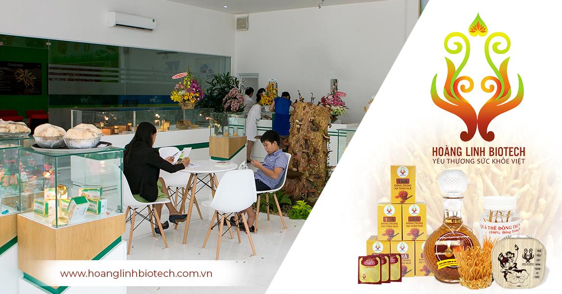 Đông Trùng Hạ Thảo Hoàng Linh Biotech - VTC Biotech